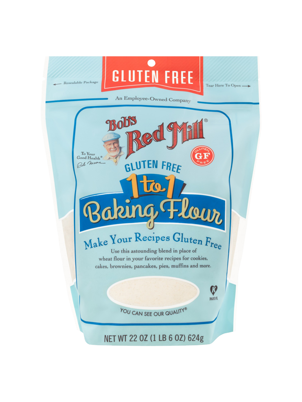 Picture of Gluten-Free 1-to-1 Baking Flour - 624 g