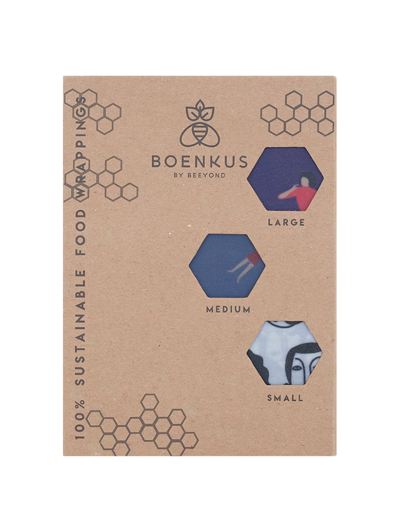 Picture of 3-Pack Beeswax Wrap in Human Life