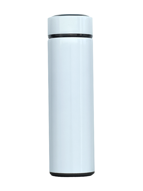 Picture of Stainless Steel Insulated Slim Water Bottle 500 ml in White