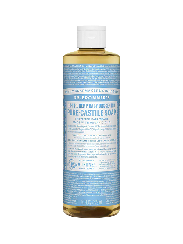 Picture of Baby Unscented Pure-Castile Liquid Soap - 473 ml