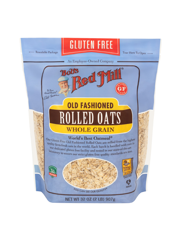 Picture of Gluten Free Old Fashioned Rolled Oats - 907 g