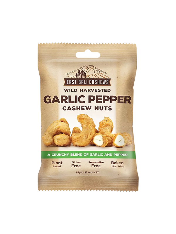Picture of Garlic Pepper Cashew Nuts - 35 g