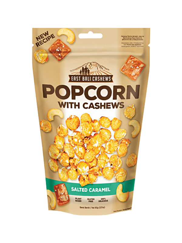 Picture of Salted Caramel Popcorn with Cashews - 90 g