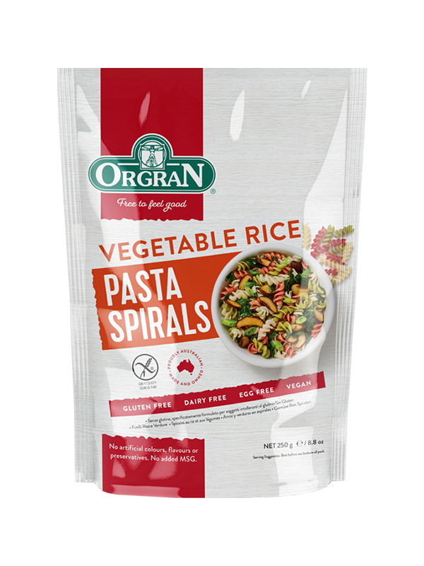 Picture of Vegetable Rice Spiral Pasta - 250g