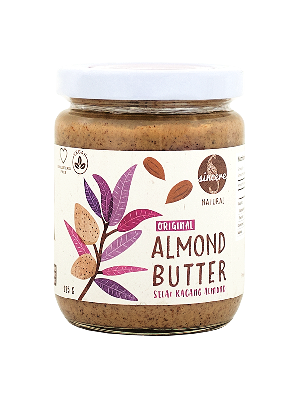 Picture of Original Unsweetened Almond Butter - 225 g